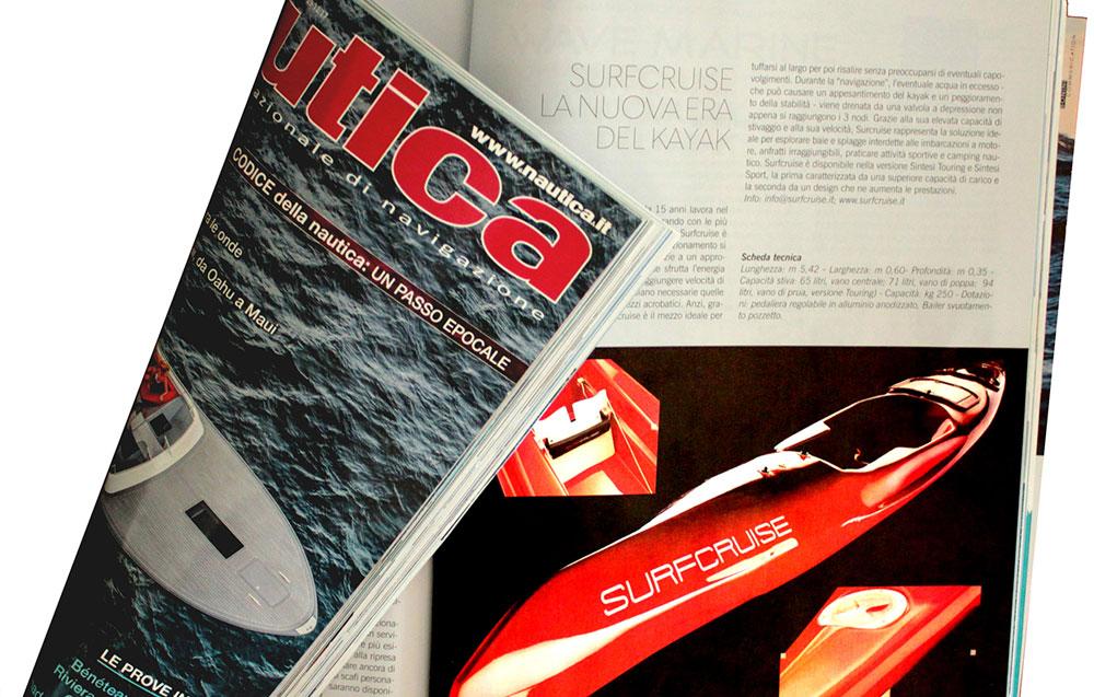 Giornale rivista Nautica articolo Surfcruise