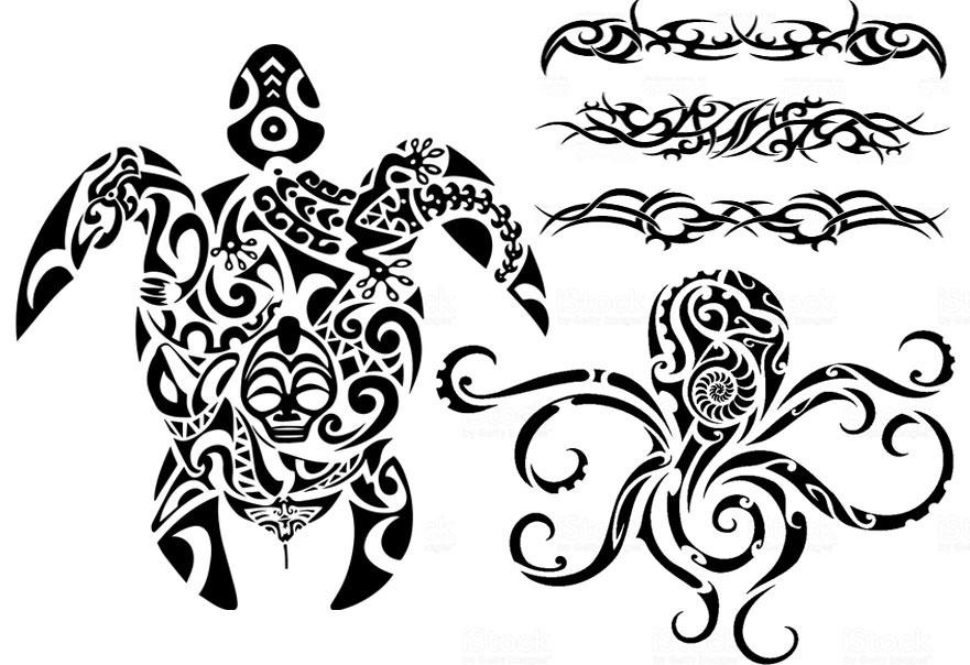 disegni maori e tatuaggi per personalizzare canoe kayak surfski Surfcruise