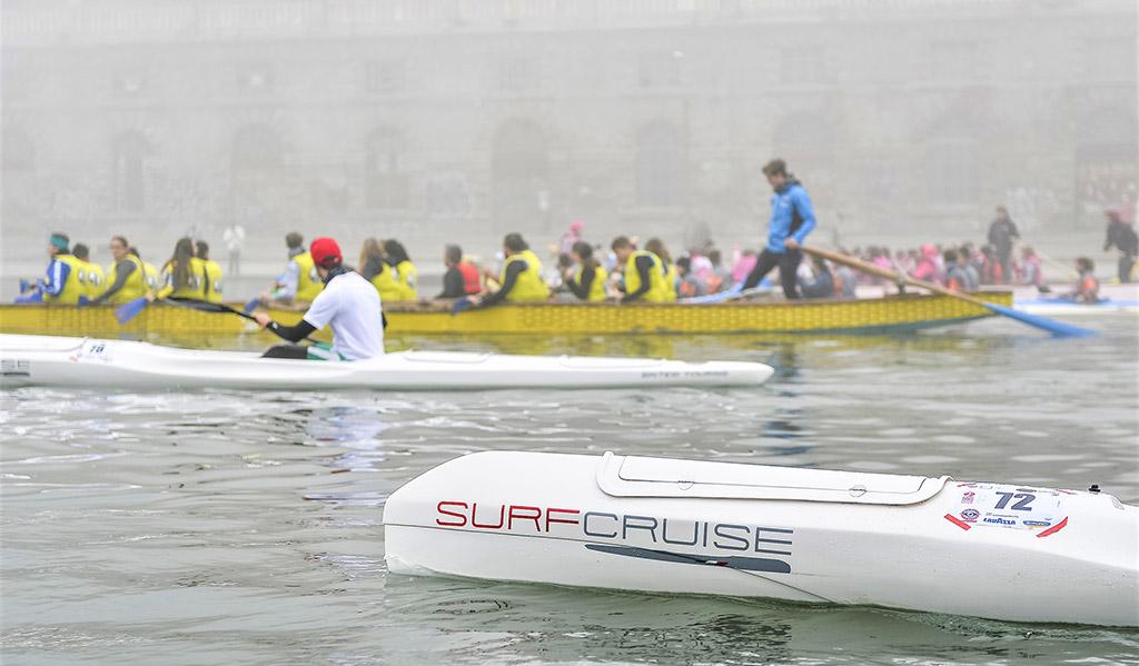 Stratoriver, Torino fiume Po, Surfcruise, canoa kayak surfski evento gara