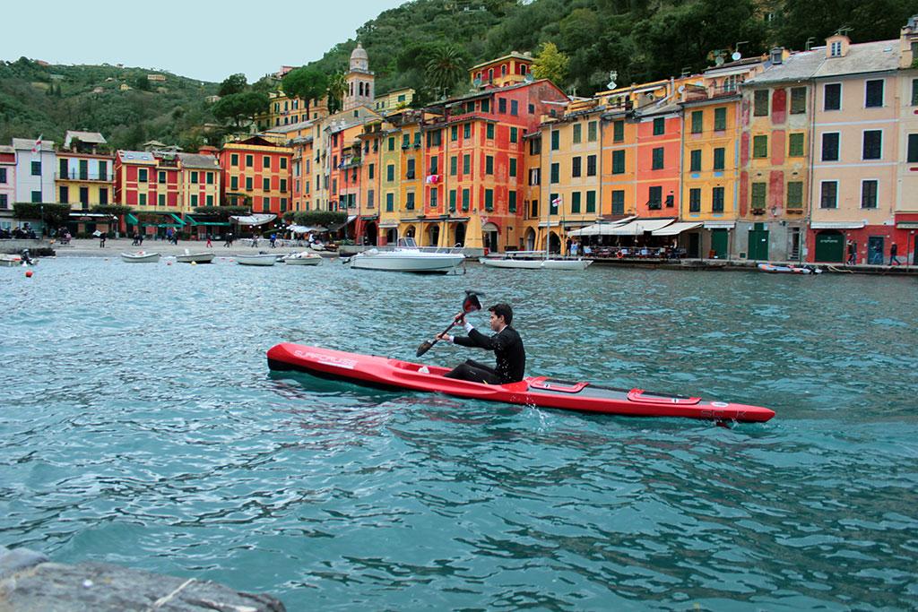 canoa kayak escursione Portofino, Riviera Ligure