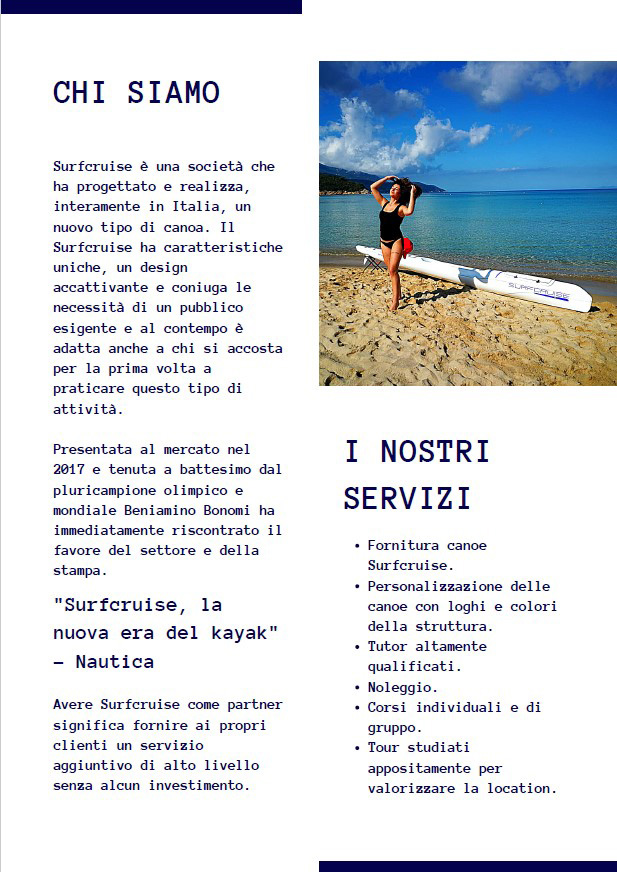 proposta surfcruise hotellerie