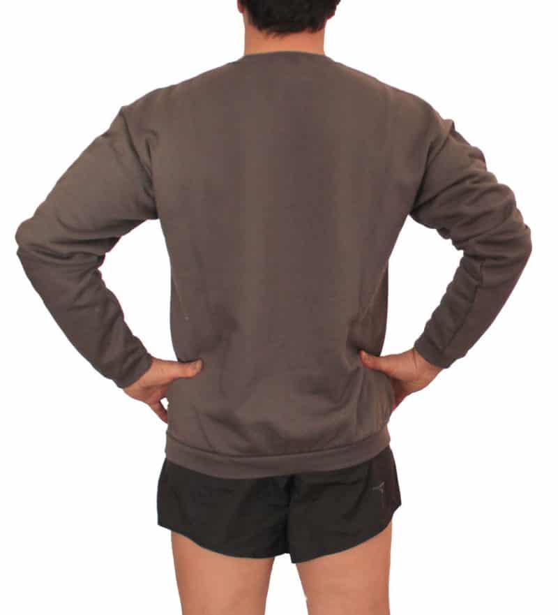 retro-indossata-felpa-grigia